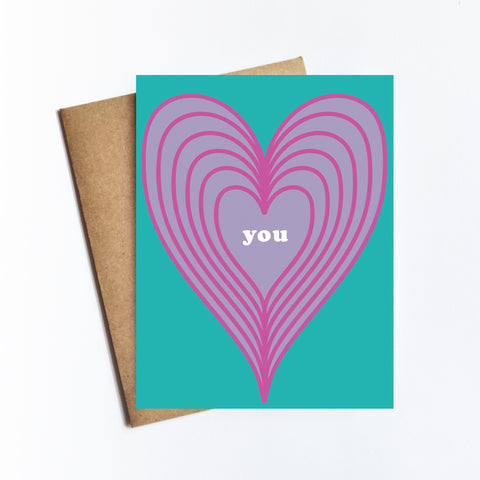 You Heart - NOTECARD