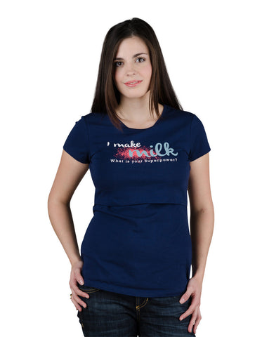 Nursing t-shirt Milk