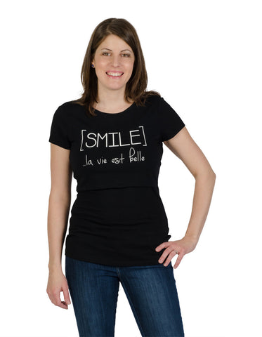 Nursing t-shirt Smile