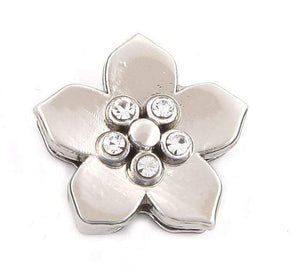 ClaudiaG 5 Stone Flower Charm