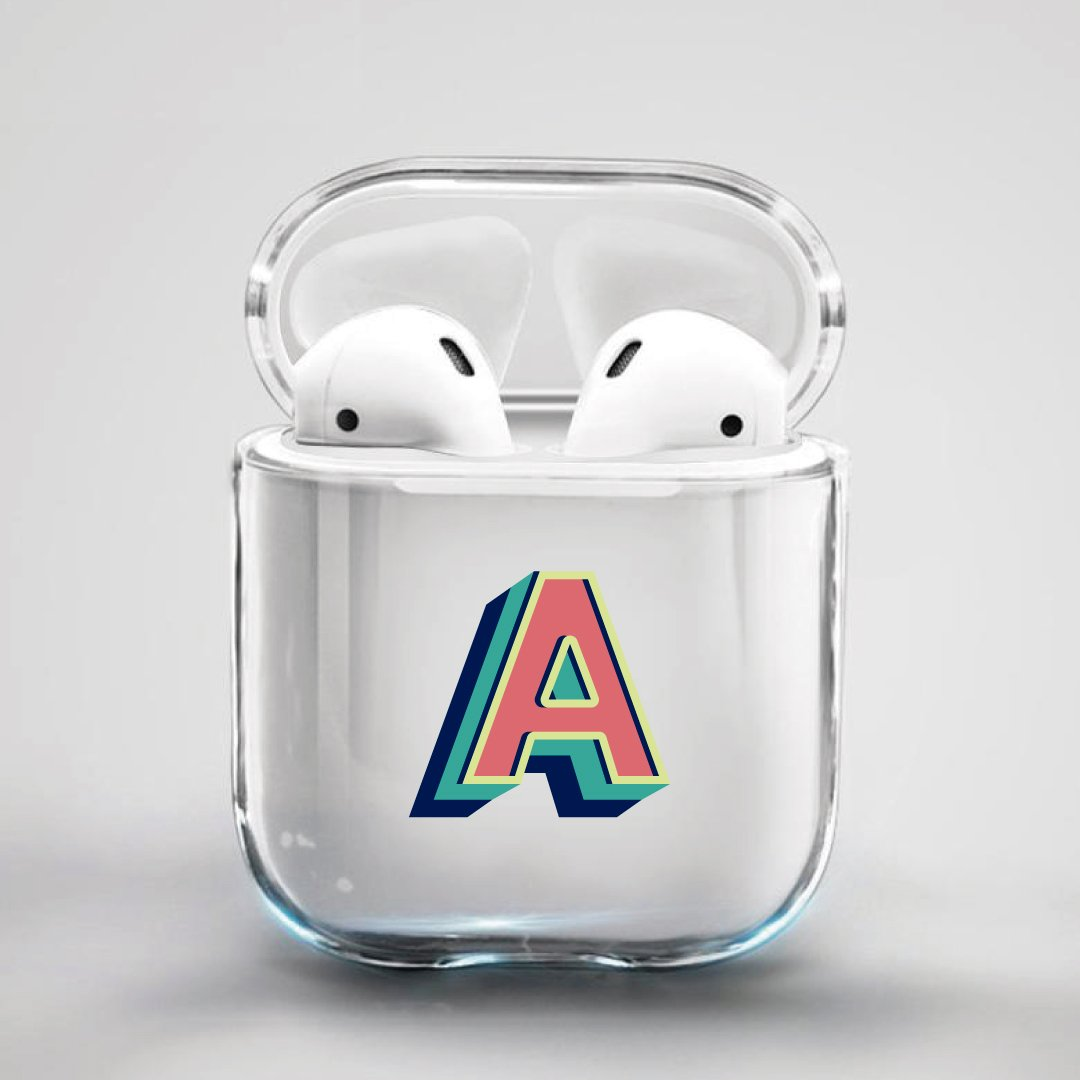 ClaudiaG Airpod Case F1 Letter A