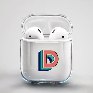ClaudiaG Airpod Case F1 Letter D