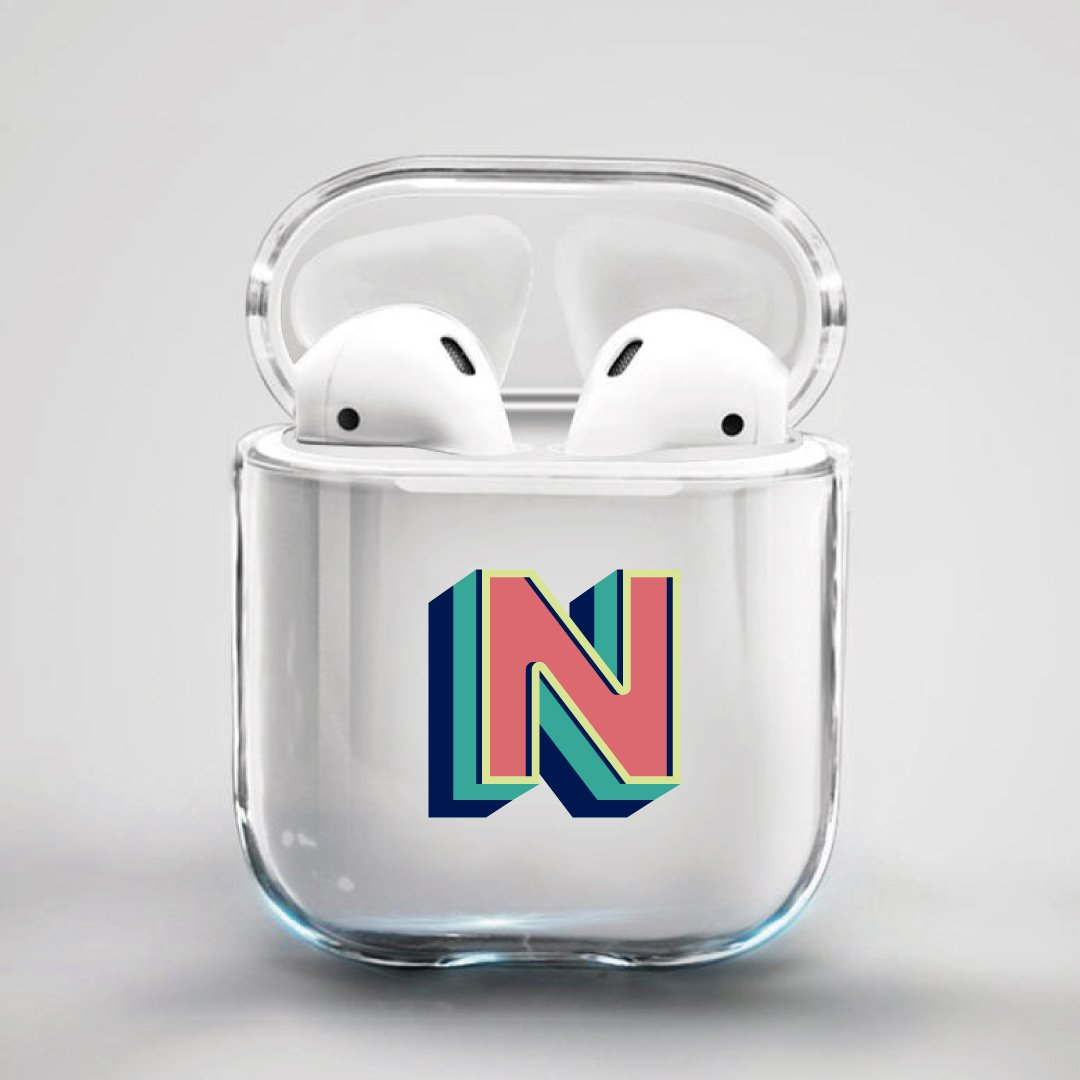 ClaudiaG Airpod Case F1 Letter N