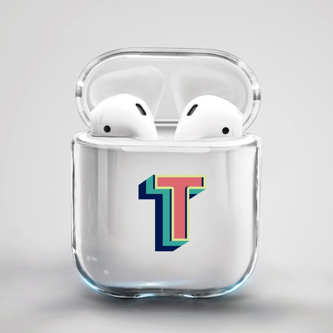 ClaudiaG Airpod Case F1 Letter T