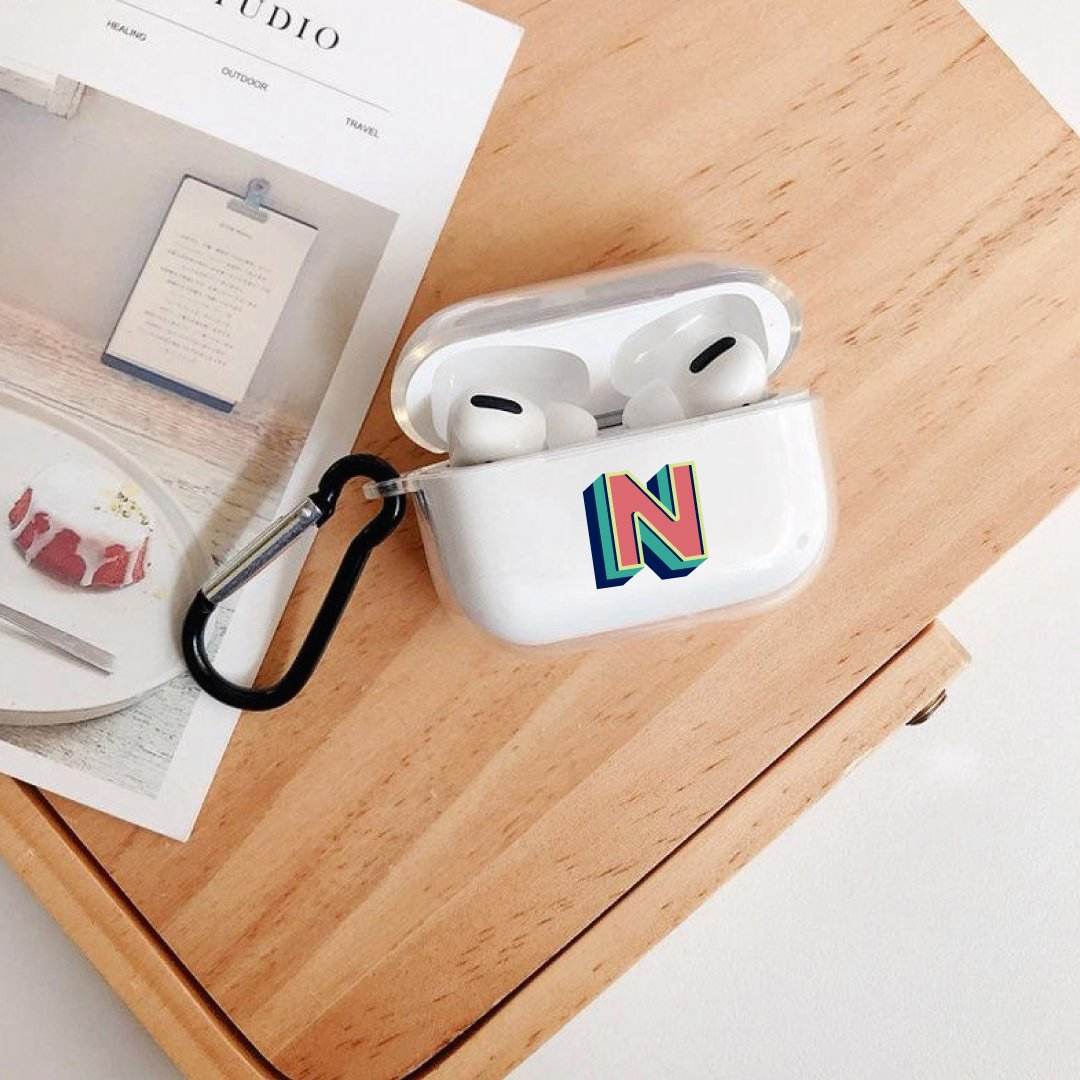 ClaudiaG Airpod PRO Case F1 Letter N