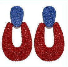 ClaudiaG Antonia -Red Earrings