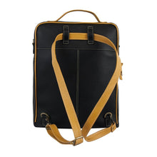 ClaudiaG Augusta Backpack-Black/Goldenrod