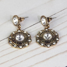 ClaudiaG Bloom Earrings-Clear