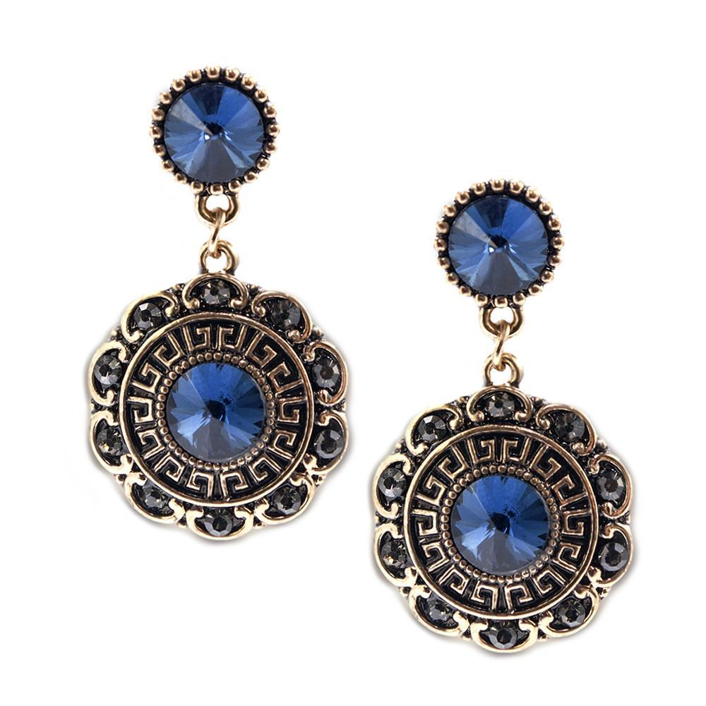 ClaudiaG Bloom Earrings-Sapphire