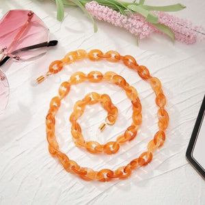 ClaudiaG Bond Glasses & Mask Chain