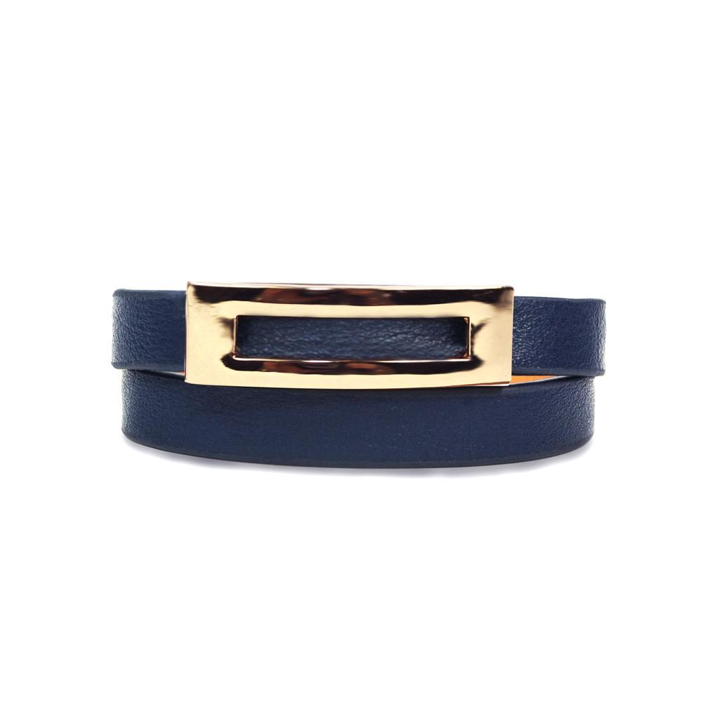 ClaudiaG Buckled Bracelet - Navy Blue