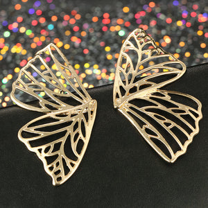 ClaudiaG Butterfly -Gold Earrings