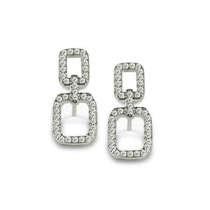 ClaudiaG Chained Earrings