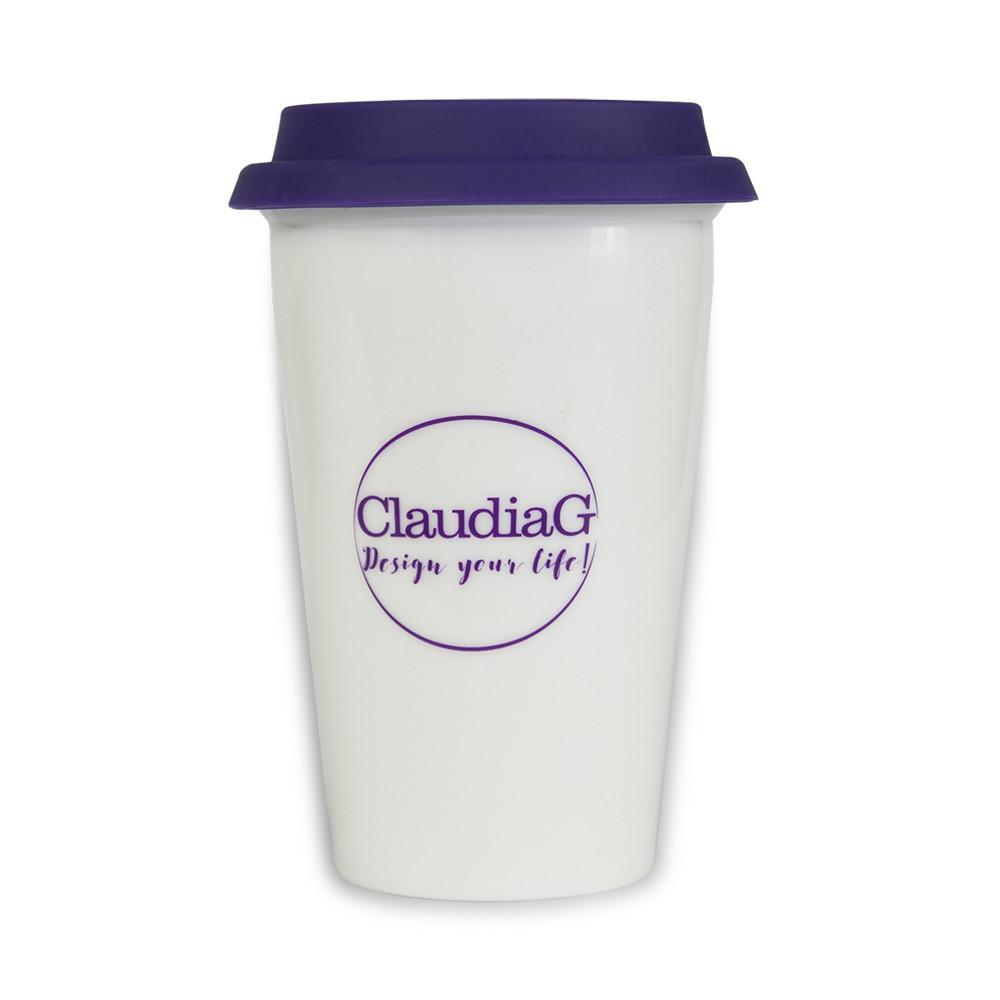 ClaudiaG ClaudiaG Ceramic Travel Mug