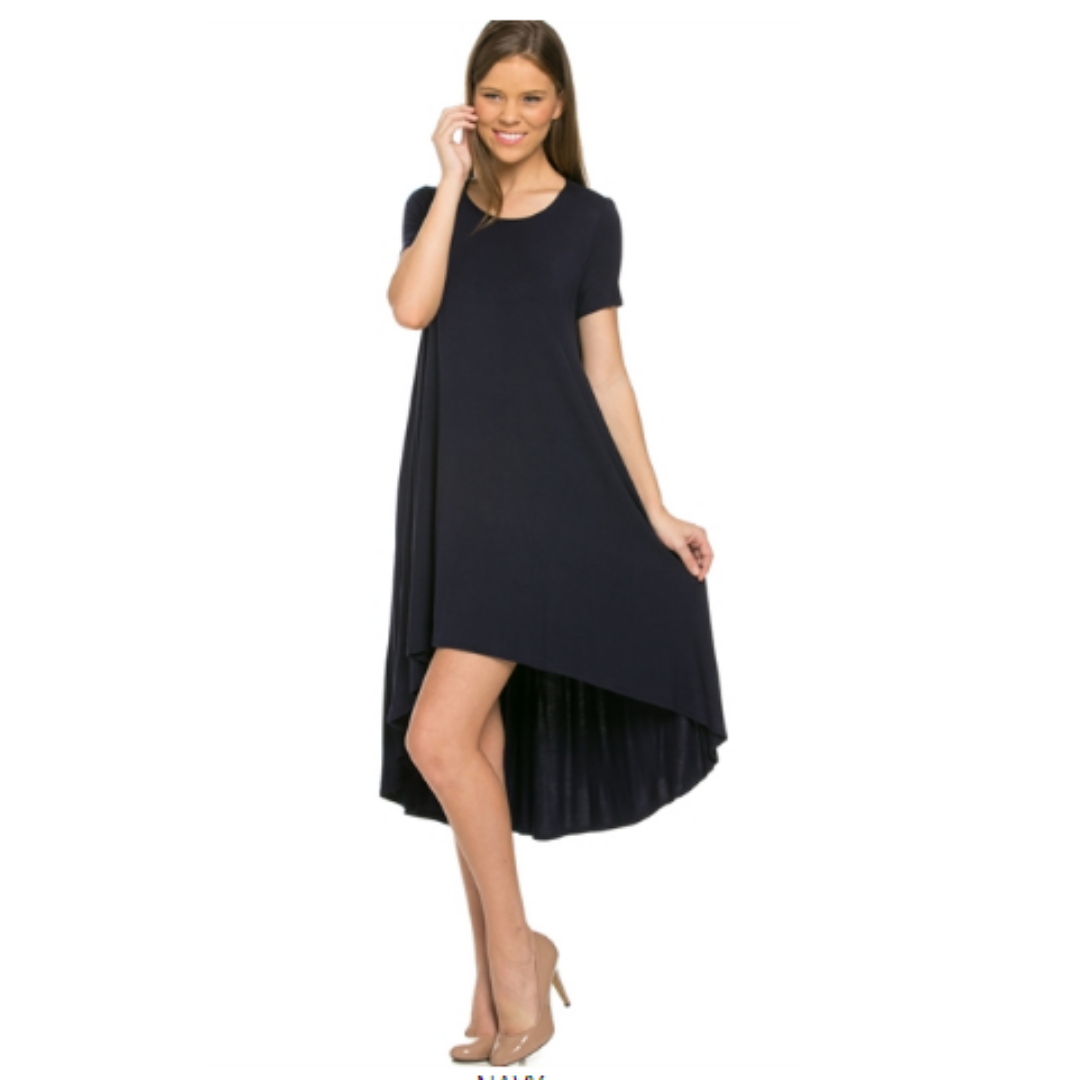 ClaudiaG Comfy Dress -Navy