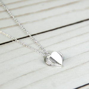 ClaudiaG Double Heart Necklace