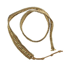 ClaudiaG Double Looped Bracelet- Gold