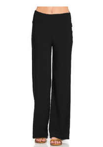 ClaudiaG Extra Comfy Cute Pants -Black