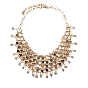 ClaudiaG Filigree Necklace- Gold