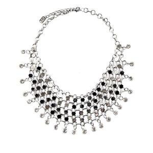 ClaudiaG Filigree Necklace- Silver