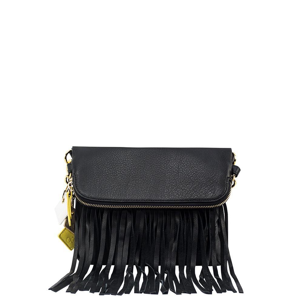 ClaudiaG Flamingo Handbag - Midnight Black