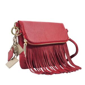 ClaudiaG Flamingo Handbag- Scarlet Red