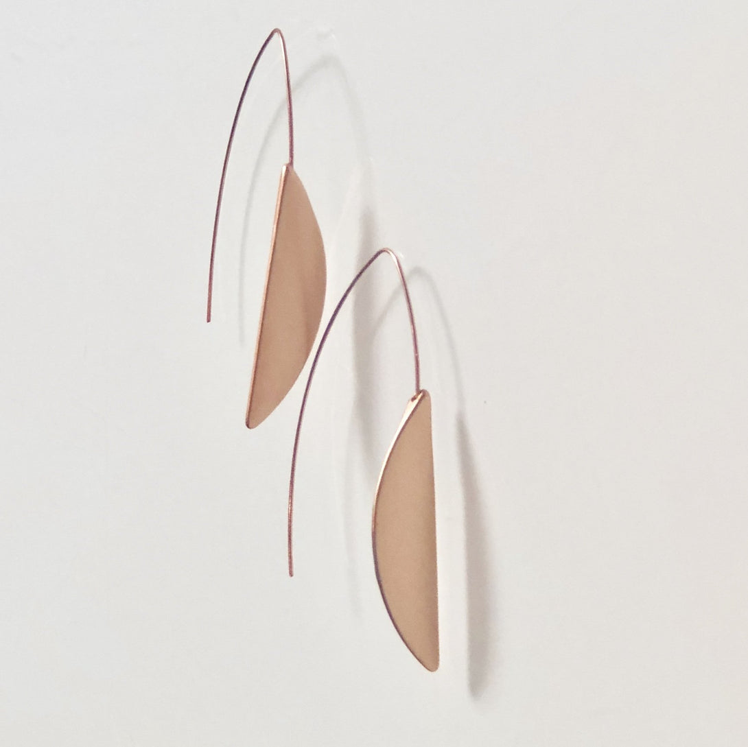 ClaudiaG Flo Earrings -Rose Gold