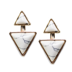 ClaudiaG Gypsy Earrings-Sea Salt White