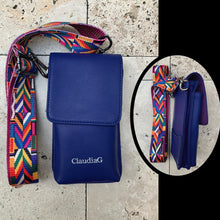 ClaudiaG ibag Leather Cross Body-Sapphire