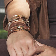 ClaudiaG Latch Bracelet - Sienna