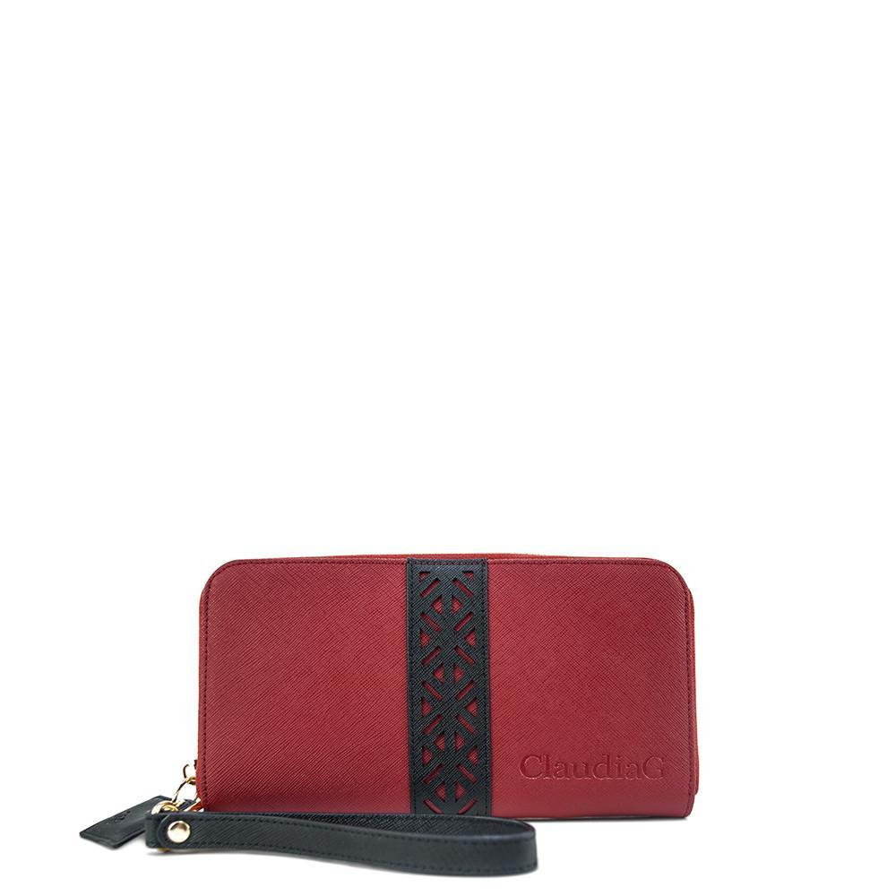 ClaudiaG Layla Wallet- Cab/Midnight Black