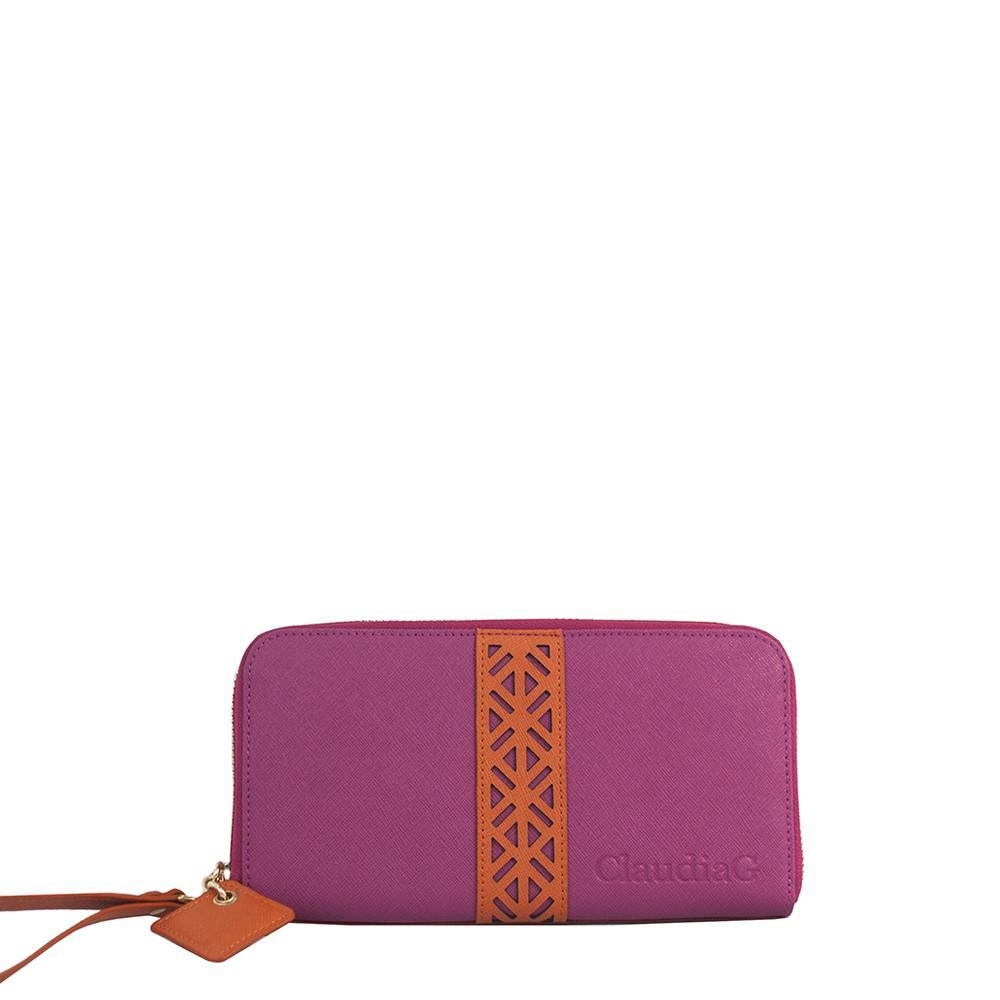 ClaudiaG Layla Wallet- Watermelon/Orange