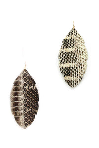 ClaudiaG Leaf Drop Earrings