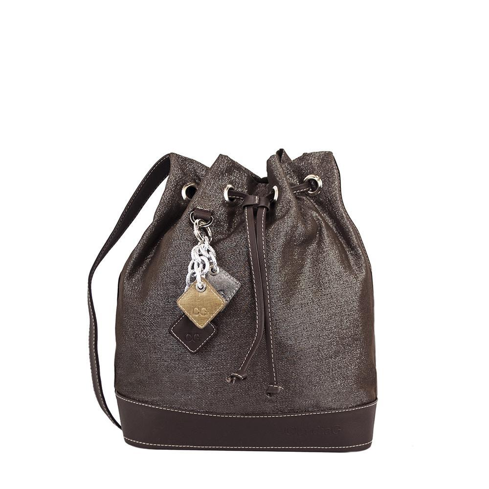 ClaudiaG LOLA Pull Bag- Chocolate