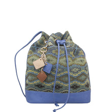 ClaudiaG LOLA Pull Bag- Ocean Blue