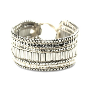 ClaudiaG Looped Bracelet- Ivory