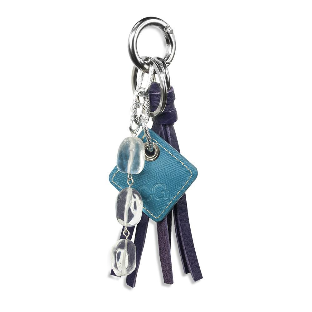 ClaudiaG Lucca Bag Charm-Purple