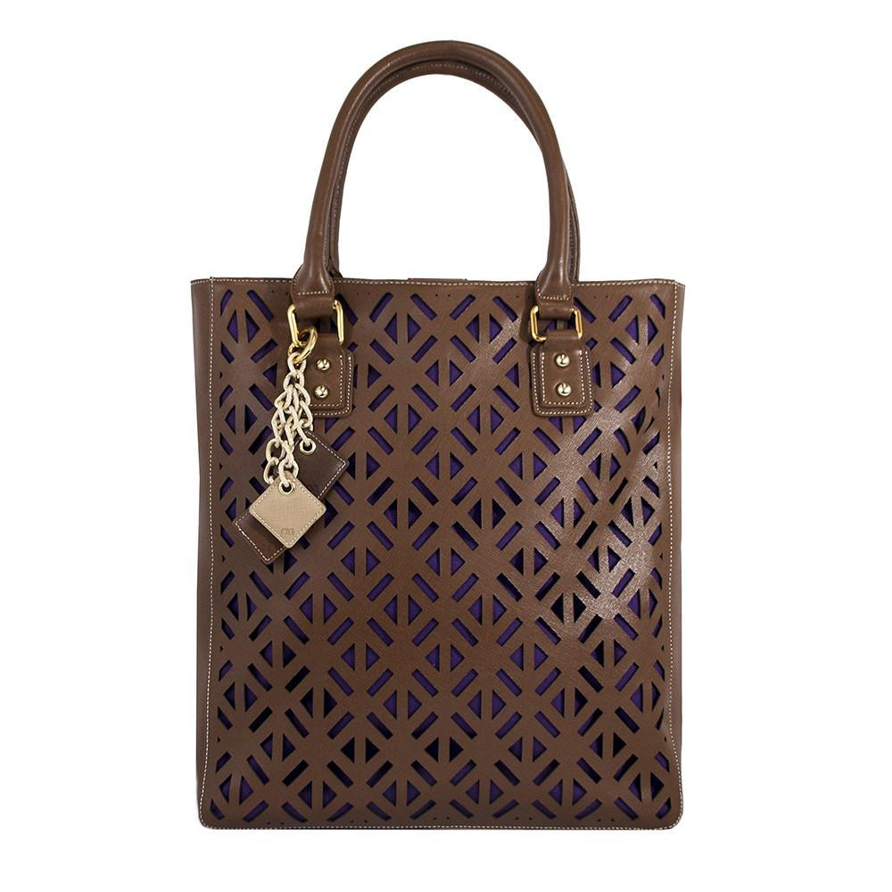 ClaudiaG Luminous Bag - Chocolate