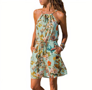 ClaudiaG Lupe Dress -Flowers
