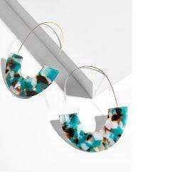 ClaudiaG Macarena -Green Earrings