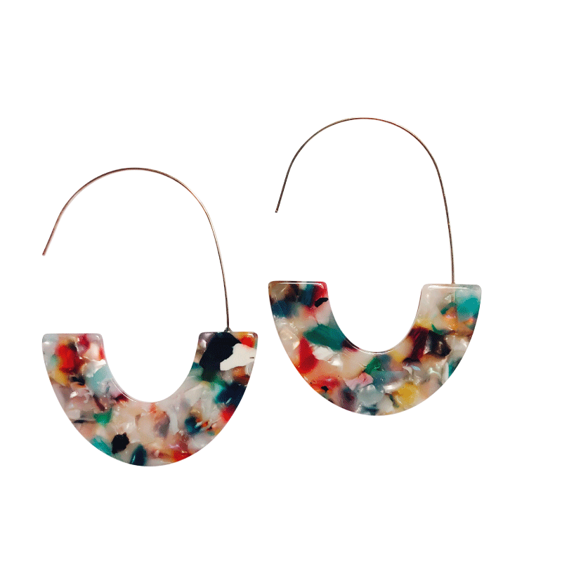 ClaudiaG Macarena -Multicolor Earrings