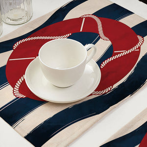 ClaudiaG Nautical Placemat Set