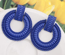 ClaudiaG Petra -Blue Earrings