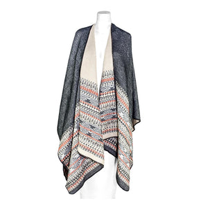 ClaudiaG Reversible Shawl