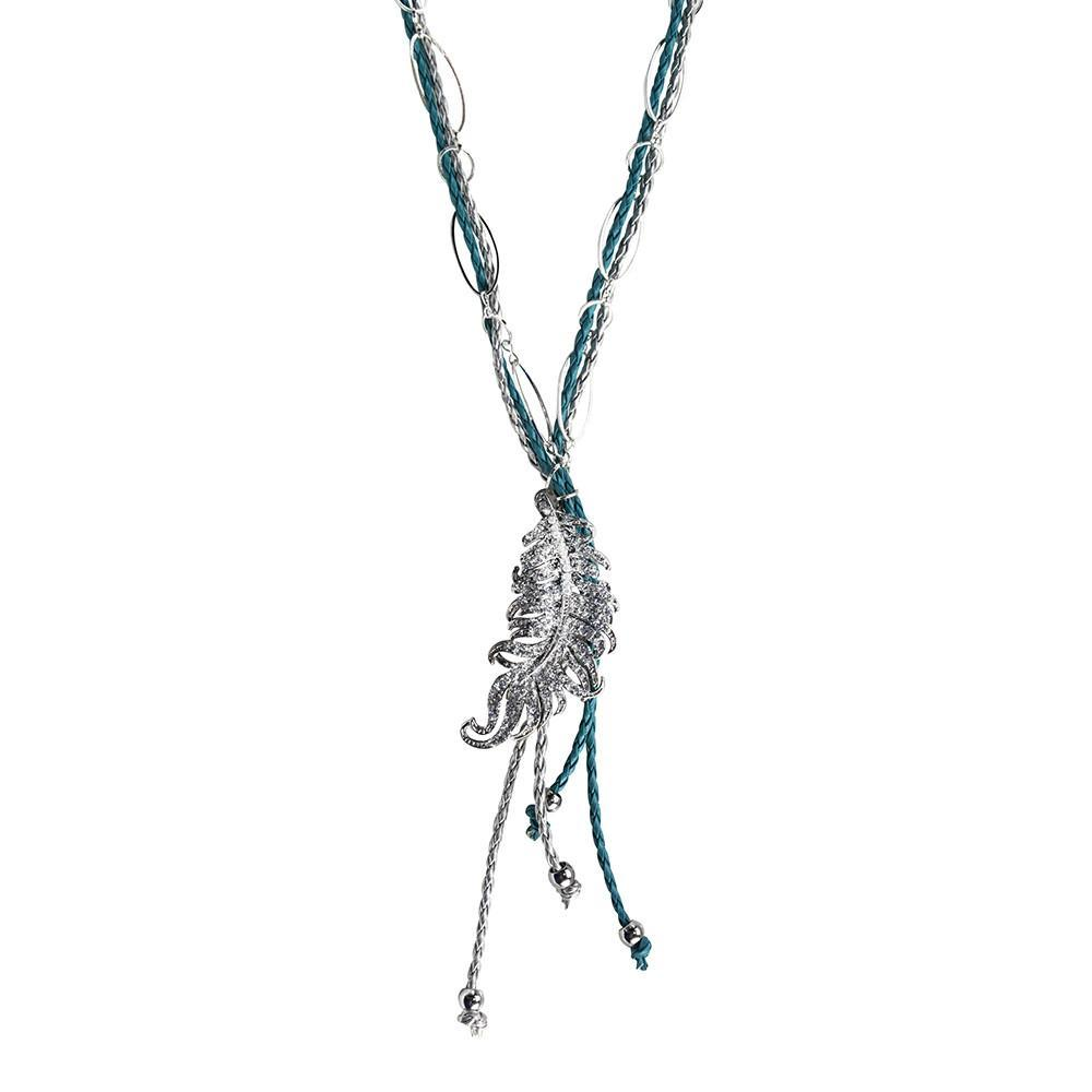 ClaudiaG Rodeo Bling Necklace- Serenity