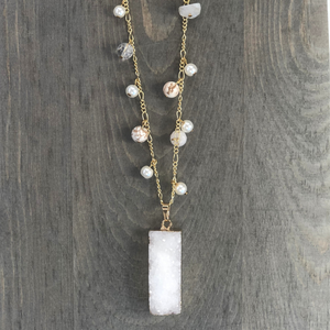 ClaudiaG Snow Necklace
