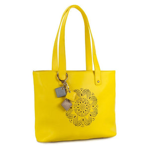 ClaudiaG Sprout Tote -Lemon