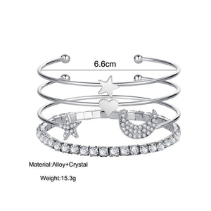 ClaudiaG Stacked Bracelet Set #11
