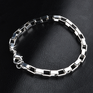ClaudiaG Sterling Silver Linked Bracelet