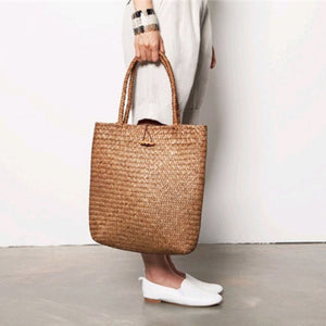 ClaudiaG Straw Shopping Bag